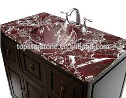 Marble Bathroom Vanity Tops by Rosso Levanto Marble Bathroom Vanity Top Buy Rosso Levanto