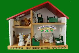 Diy Fandom Dollhouse Cute Miniature by Sylvanian Families Calico Critters House Best Friends Cottage Doll