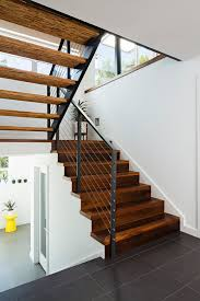 painting stair treads staircase contemporary with wood risers wood