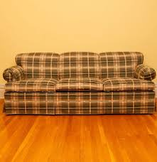 Apartment Sleeper Sofa Best Plaid Sleeper Sofa 77 In Apartment Size Sleeper Sofas With