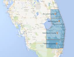 Map Of Florida West Coast by Electrician Palm Beach County Martin St Lucie Broward