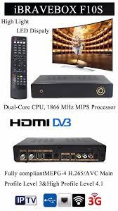 Led Tv Box Design Attractive Design Ibravebox F10s Dvb S2 Chromecast Internet Tv Box