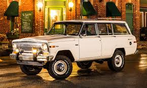 classic jeep wagoneer wait a minute what jeep wagoneer where did that come from