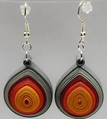 quiling earrings 3d quilling earrings by sabrinascraftingclub on deviantart