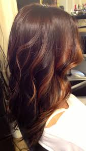 brunette hairstyle with lots of hilights for over 50 brunette and caramel face framing balayage highlights over long