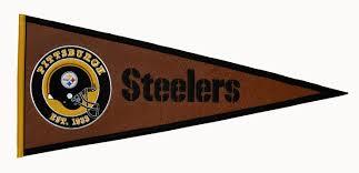 pittsburgh steelers pigskin pennant 61724 26 99 teams and pittsburgh steelers pigskin pennant