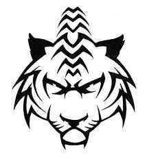 fierce prowling tiger design by wildspiritwolf on deviantart