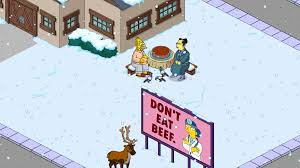 home design story christmas update the simpsons tapped out addictsall things the simpsons tapped out