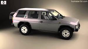 nissan terrano 1995 nissan terrano pathfinder 1993 by 3d model store humster3d com