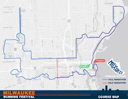 Map Of Milwaukee Registration Opens Today For The Milwaukee Running Festival U2013 Keep