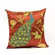 china designs 2016 new designs china polyester linen embroidery bolster back