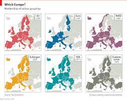 European Time Zone Map by The Future Of The European Union