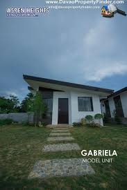 gabriela house and lot package aspen heights davao property finder