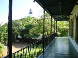 Hemingway House Key West View Of Lighthouse From Hemingway House Upper Porch Picture Of
