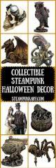Mechanical Decor Steampunk Halloween Decor