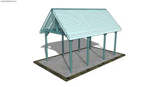 plans attached carport outdoor pavilion house plans 80138