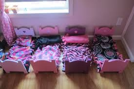 how to make american girl doll bed 4 american girl doll beds for the price of 1 the five of clubbs