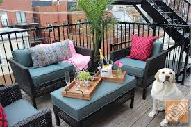 stylish patio furniture for apartment balcony and best 25 small