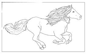coloriage cheval grand galop imprimer ancenscp