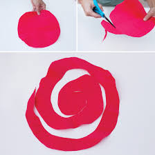 Paper Roses Kentucky Derby Diy 2 Crepe Paper Roses Tutorial Hostess With