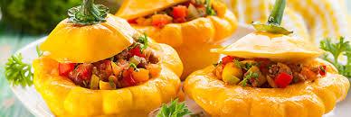 cuisiner du patisson farcis aux légumes une recette végétarienne