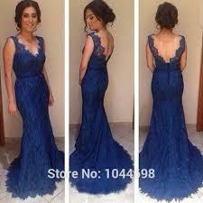 royal blue bridesmaid dresses royal blue bridesmaid dress mermaid 2017 v neck lace backless