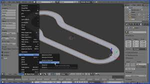tutorial blender tracking blender tutorial making a racing track for a car game design from