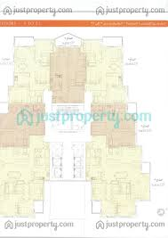 The O2 Floor Plan by Mesk Floor Plans Justproperty Com