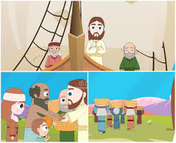 clipart of jesus feeding the hungry images collection
