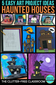 Craft Project Ideas For Kids - haunted house for sale writing project and craft ideas clutter