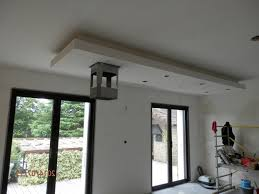plafond suspendu cuisine décoration plafond lumineux cuisine 93 08220750 blanc