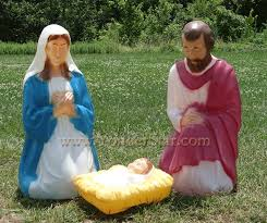 exciting image of nativity outdoor decoration for your