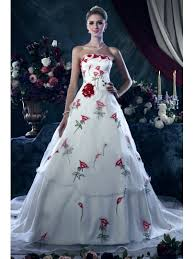 color wedding dresses wedding flowers dresses tbdress