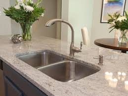 Stainless Steel Kitchen Countertops Appliances Single Handle Stainless Steel Kitchen Faucet With