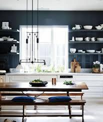 meuble cuisine bleu meuble cuisine bleu cuisine bleu ouverte de style moderne with