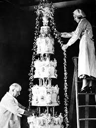 wedding cake history the most the top wedding cakes throughout history instyle
