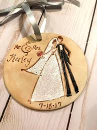wedding ornaments personalized custom wedding ornament