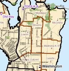 seattle map by district new seattle school boundary maps to be released update chs