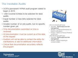 Desk Audit Copyright 2015 Aha Solutions Inc U2013 155 North Wacker Drive
