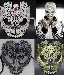 silver masquerade masks for women wholesale black gold silver metal filigree
