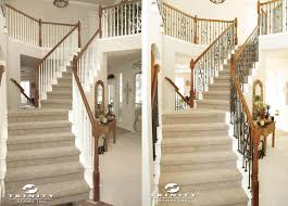 Replacement Stair Banisters Stair Remodeling Before U0026 After Gallery Trinity Stairstrinity Stairs