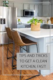 what s the best thing to clean kitchen cabinets with what you need to get a clean kitchen fast inspiration for