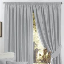 Blue Silk Curtains Pencil Pleat Curtains The Range