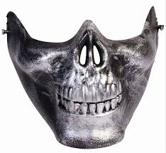 ghost face mask military half mask ebay