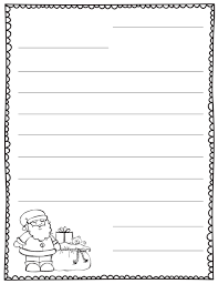letter to santa template printable black and white letter to santa blank template teaching pinterest school