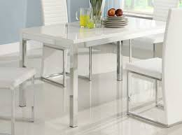 Rectangular Kitchen Table by Dining Room Astounding White Dining Table Design Inspiration For