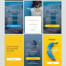 behance login ui u0026 ux design bolder on behance