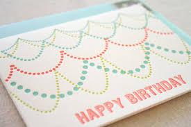 letterpress happy birthday cards paper crave