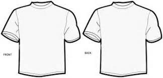blank tshirt clipart