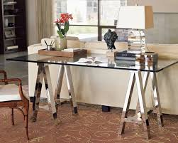 Mainstays Glass Top Desk by Glass Desk Tables Excellent Executive Desk And Credenza With